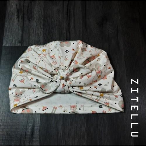 Turban Zitellu - bumbac organic, 006