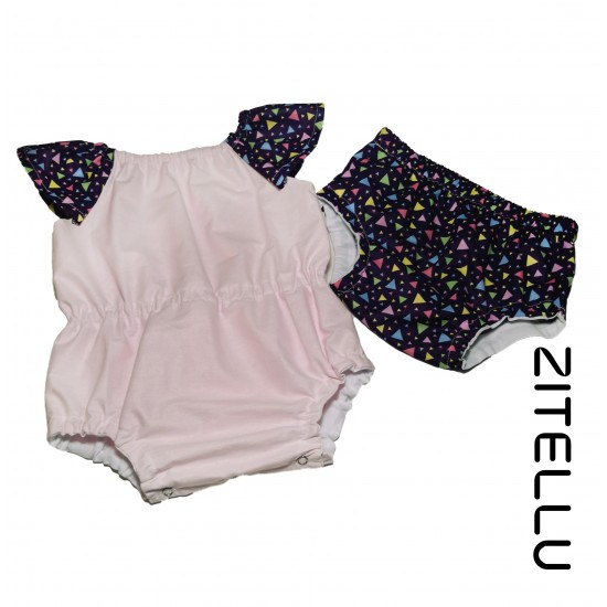 Set Body Romper Zitellu, 003