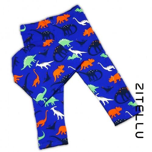 Pantalonas si caciula Zitellu, bumbac organic, 026