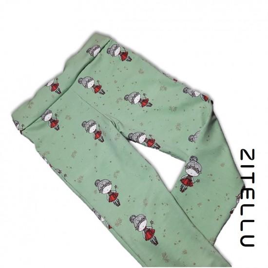 Pantalonas Zitellu, bumbac organic, 027