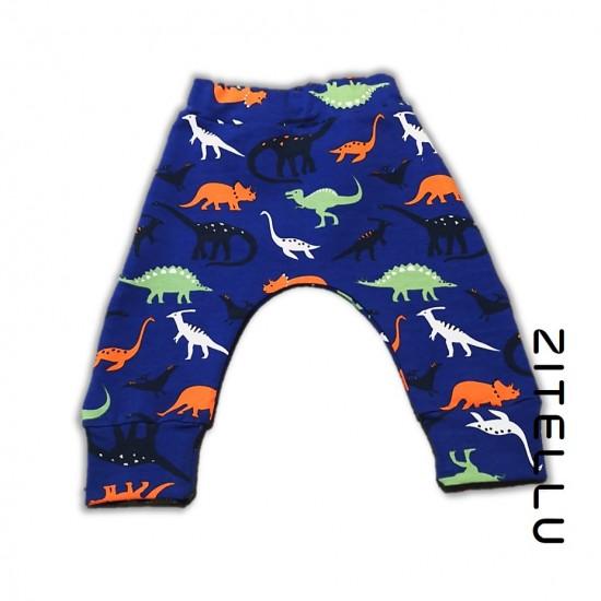 Pantalonas Zitellu, bumbac organic, 028