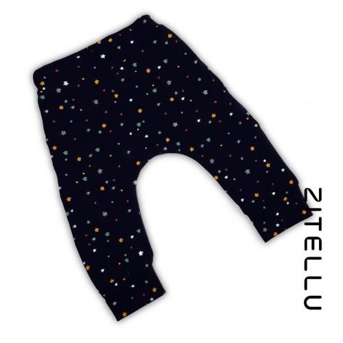 Pantalonas Zitellu, bumbac organic, 032