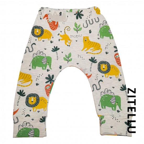 Pantalonas Zitellu, bumbac organic, 040