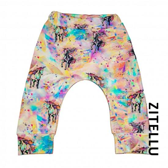 Pantalonas Zitellu, bumbac organic, 041